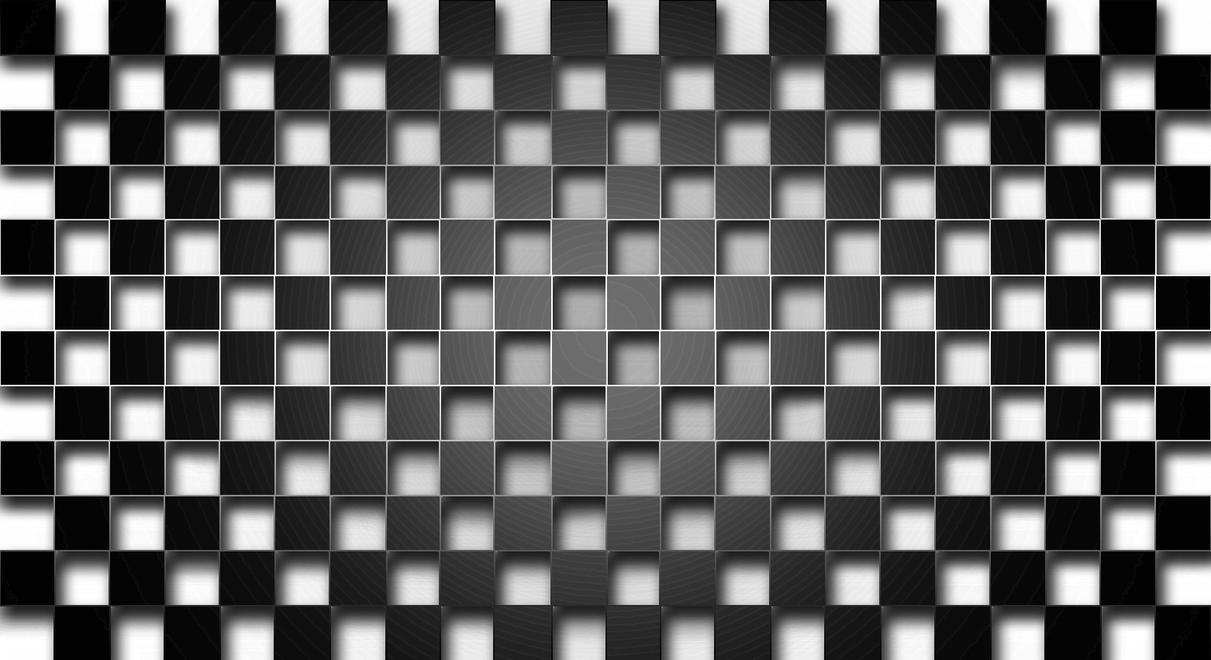 Checkerboard Wallpaper By DavesArtwork