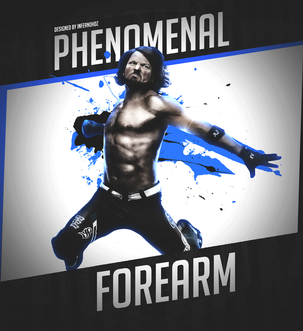 AJ STYLES By Infernoshades On DeviantArt