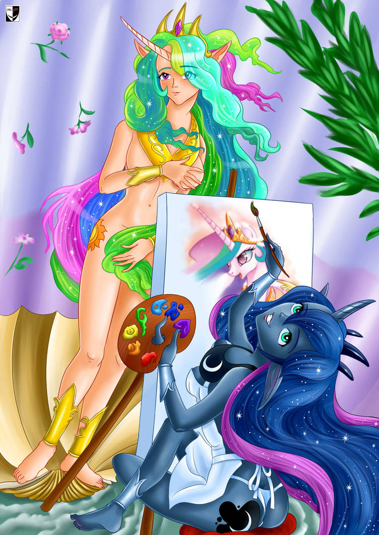 MLP: Portrait of beloved sister by Lord--Opal