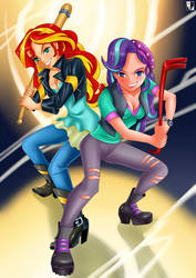 MLP: Bad girls by Lord--Opal