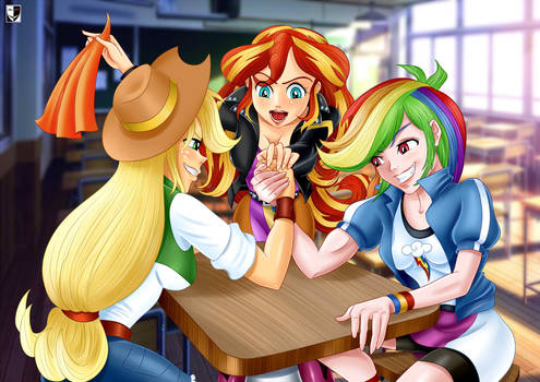 MLP: Arm wrestling