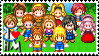 Harvest Moon Stamp: Girls by Nihren