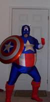 Captain America Swells Up