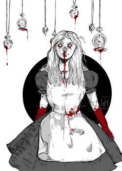 Inktober Day 26:Bloody Alice