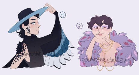 [closed thanksss] fantasy bust adoptables #3 by cosmothestellar