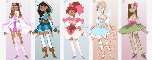 [CLOSED, thank you!!!] magical girl adoptables