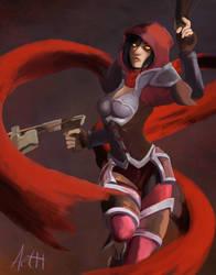 Valla the Demon Hunter