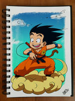 Goku by SuperG0blin