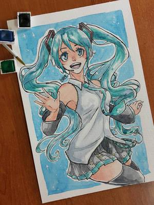 Miku by SuperG0blin
