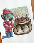 goblin b-day by SuperG0blin