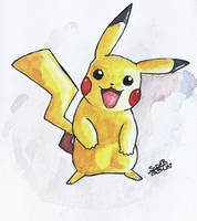 Pikachu by SuperG0blin