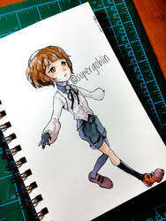 Chibi Hans by SuperG0blin