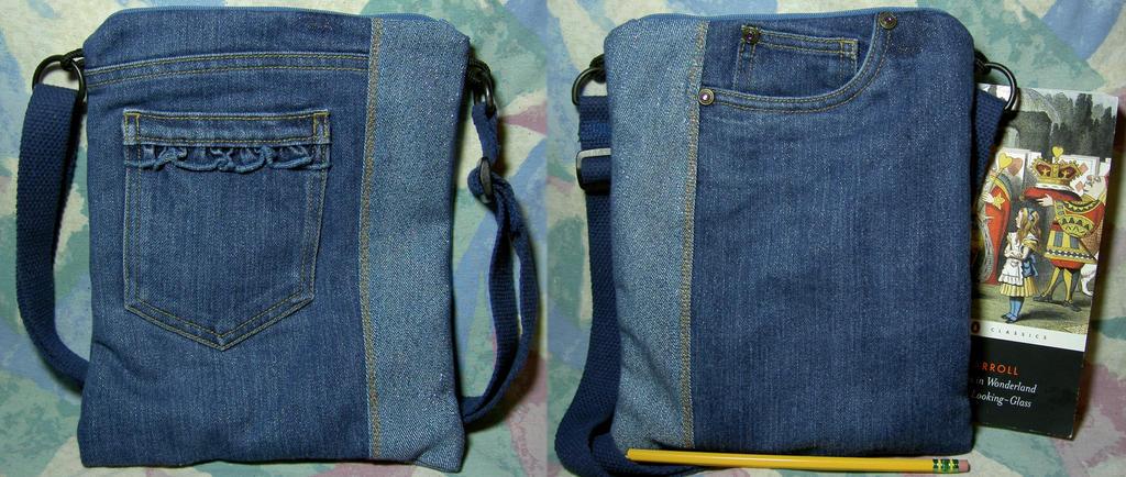 Disney Sparkle Blue-Jeans Bag