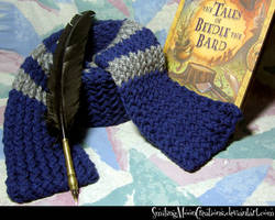 Ravenclaw Movie Scarf 1 + Beedle n Quill by SmilingMoonCreations