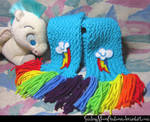 Rainbow Dash Scarf 1