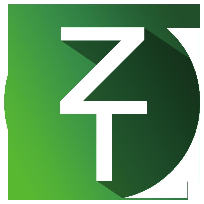 Tee shirt Logo ZT Large fond Noir 1079954