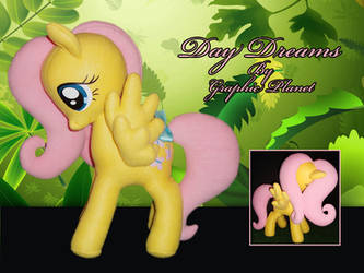 My Little Pony Fluttershy Plush by GraphicPlanetDesigns