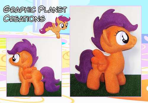 My Little Pony Scootaloo Plush