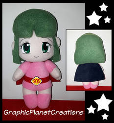 Nanako SOS Plushie (Nana' Supergirl) by GraphicPlanetDesigns