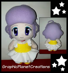 Creamy Mami Plushie by GraphicPlanetDesigns
