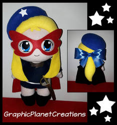 Stella della Senna Plushie by GraphicPlanetDesigns