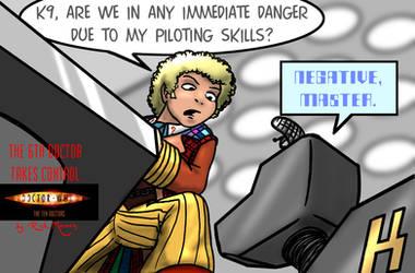 Doctor Who Comic Wallpaper by Gorpo
