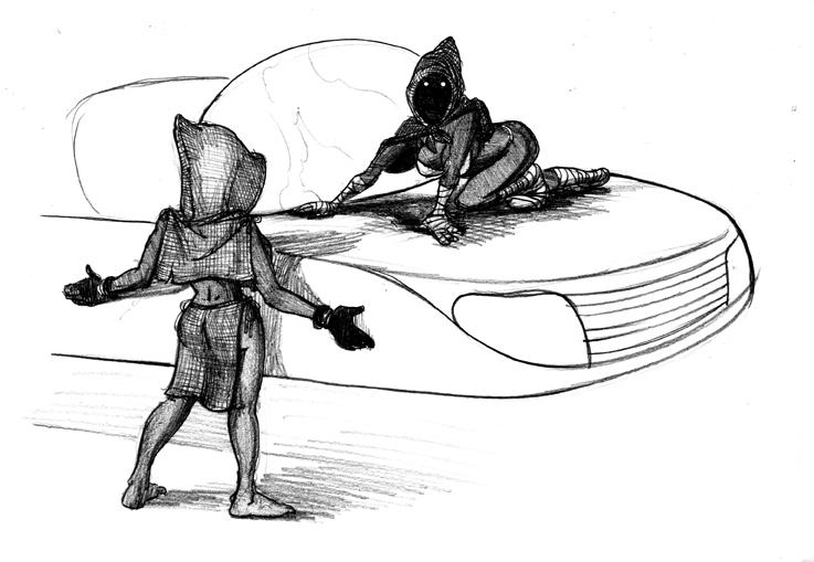 Jawa Drawing