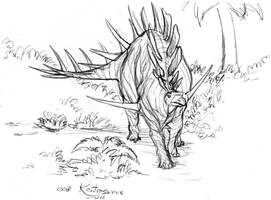 008 Kentrosaurus by Gorpo