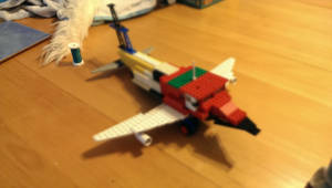 LEGO Plane by Gorpo