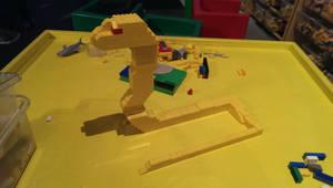 LEGO snake. by Gorpo