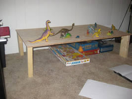 Dinosaur Table Project: 02 Table