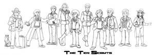 The Ten Scouts!