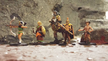 Homerian Epic: The Minis by Gorpo