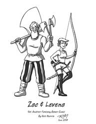 Zac and Levena by Gorpo
