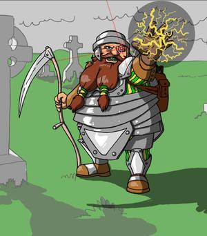 Dwarf Necromancer