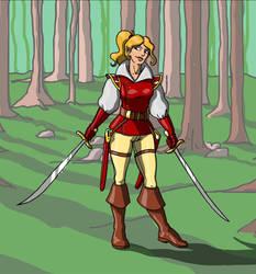 Half Elf Warlock