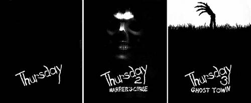 Thursday Posters 1, 2 and 3