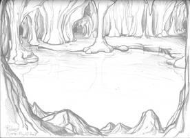 Subterranean lake by Gorpo