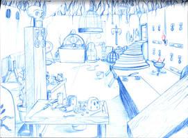 Drow Playroom by Gorpo