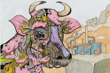 Mechanical Bull by rickalope99