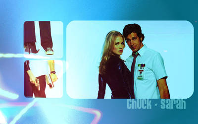 Chuck and Sarah by kayleekristalee