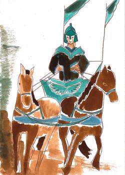 The chariot - tarot