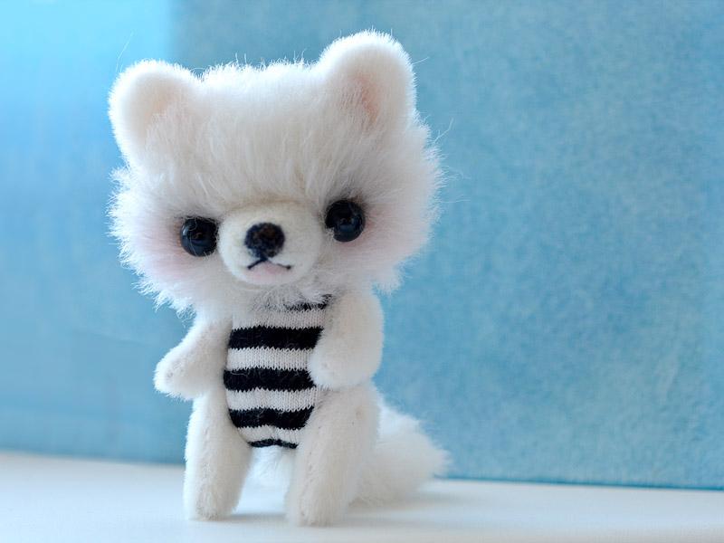 Amigurumi Teddy Bears : Puppy patrick amigurumi teddy bear plush toy by sulizstudio on