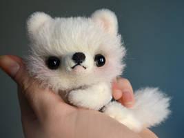 Puppy Patrick. Amigurumi Teddy Bear plush toy by SulizStudio