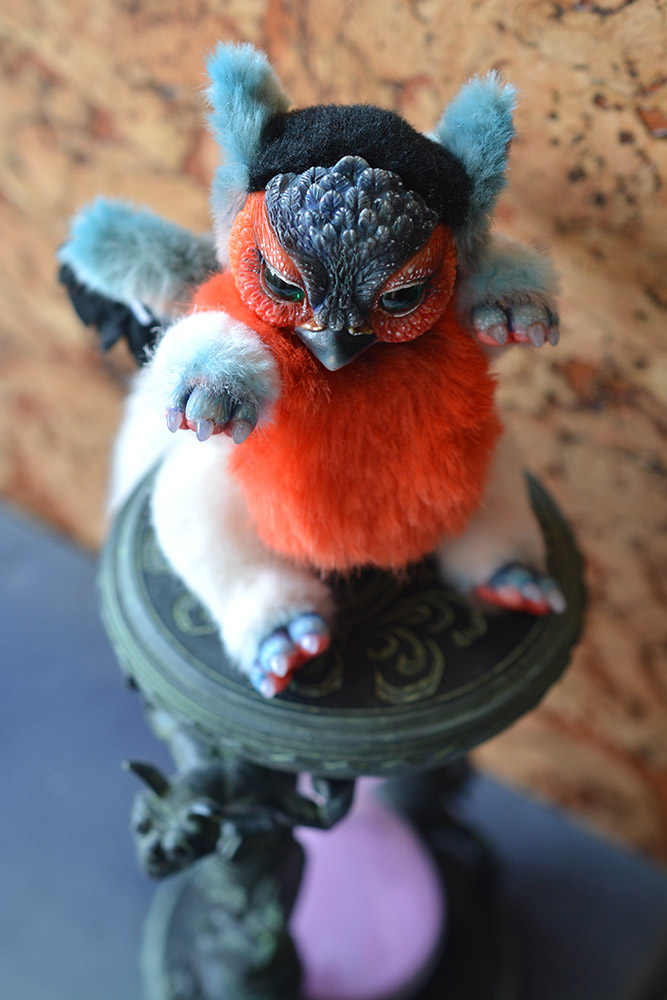 BOO! Bullfinch Griffin by SulizStudio