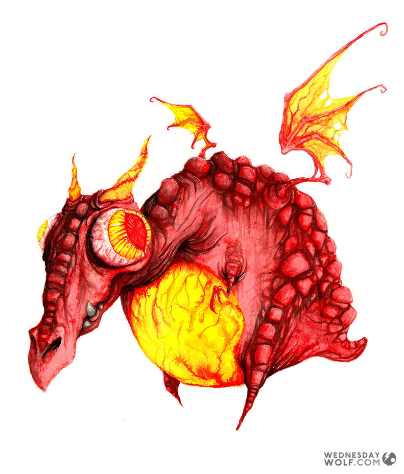 Red Dragon by wednesday-wolf