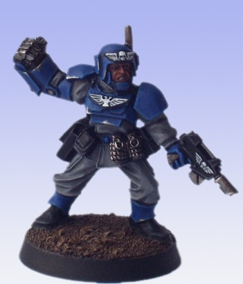 Cadian Officer Warhammer 40k by Conclave81