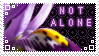 Stamp: not alone by Peccantis