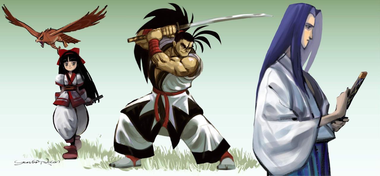 Samurai shodown by Seeso2D