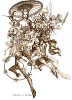Soul Calibur Girls by Seeso2D